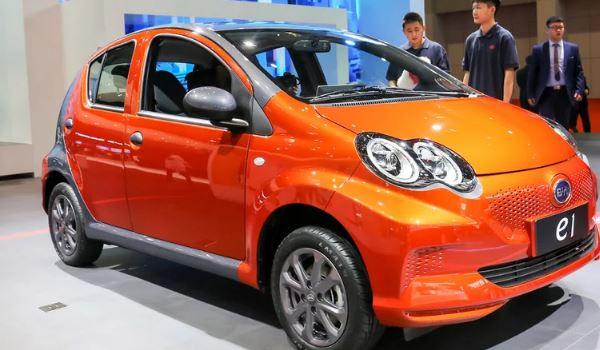 比亚迪最便宜的电动车