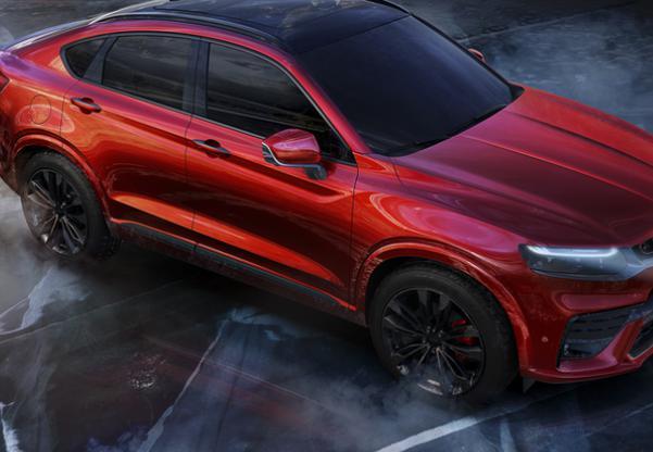 吉利沃尔沃最新车型 高度还原概念车设计