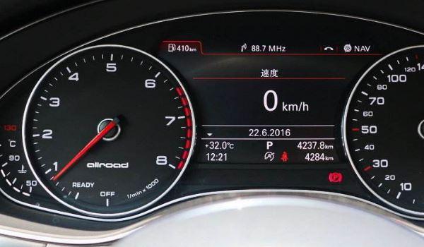 仪表盘不显示当前车速