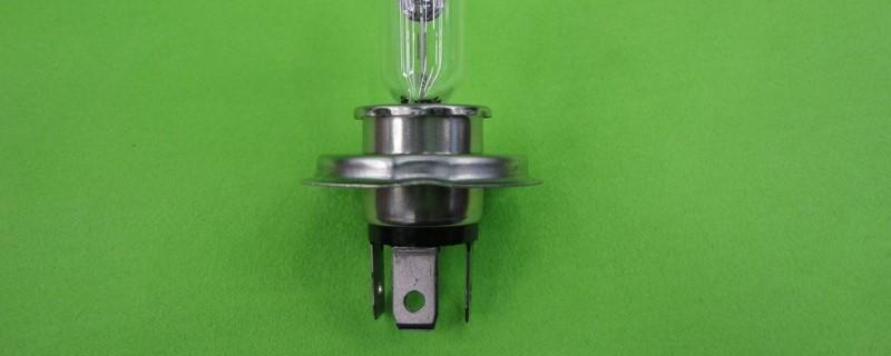 汽车h4灯泡三个脚接线方法