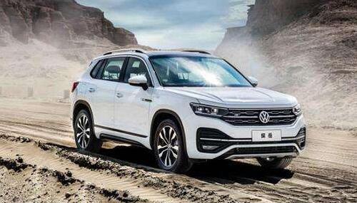 2020年9月中型SUV销量排行榜 大众探岳售19045辆排第一