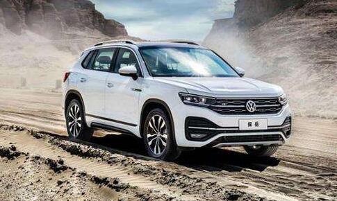 2020年10月中型SUV销量排行榜 探岳同比-21.28%还是第一