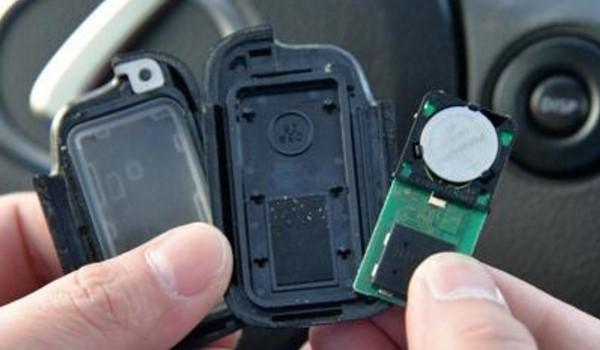 车钥匙没电 无法使用车辆钥匙的遥控功能