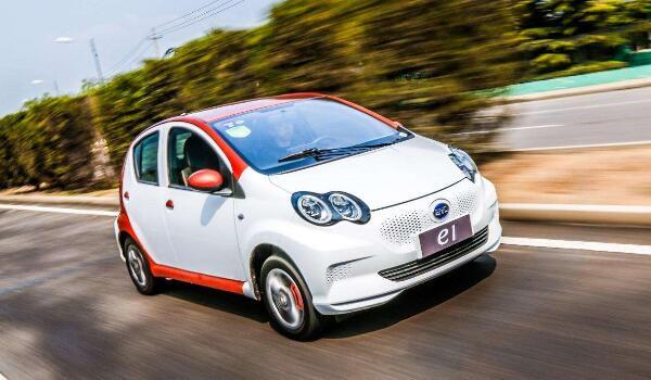 八万内最好电动汽车 比亚迪e1排名第一宏光MINIEV上榜