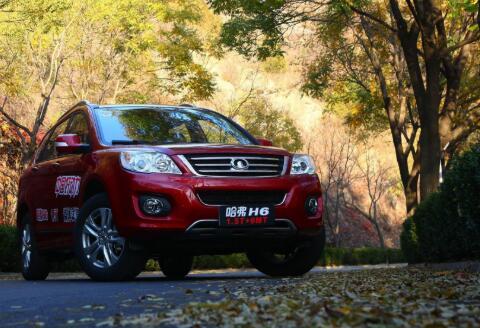 2020年12月SUV销量排行榜 哈弗H6再度包揽年度月冠军(55632辆)