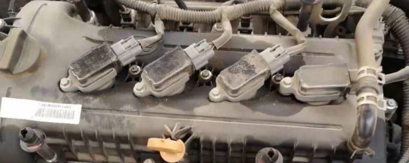 奔腾b50发动机钢印号在哪个位置