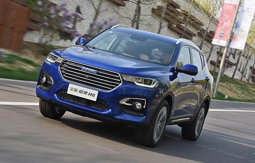 2021年1月SUV销量排行榜 哈弗H6同比上涨75.5%(46368辆排名第1)
