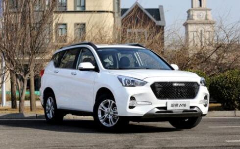 2021年1月10万SUV销量排行榜 哈弗M6售出16329辆第一名(同比涨14.2%)