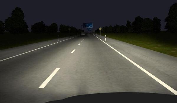 新款捷达轿车灯光使用图解 十分简单的操作方式
