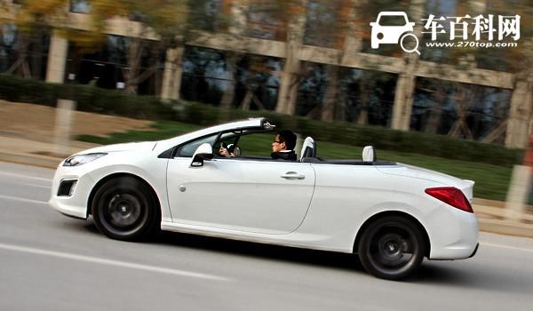 标致308cc敞篷跑车报价 新车报价30万元(拉风漂亮适合小姐姐驾驶)