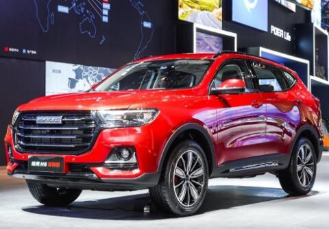 2021年4月SUV销量排行榜(268车型版本)哈弗H6依旧销量第一