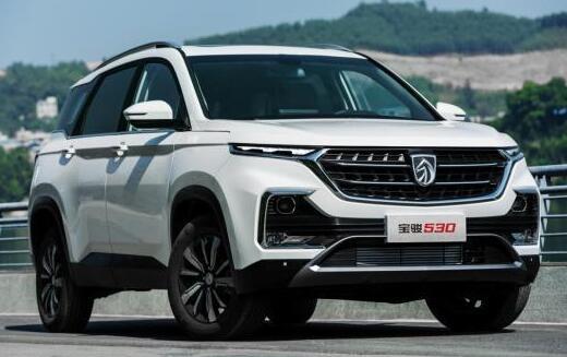 2021年4月份七座SUV销量排行榜 宝骏530售出7977辆小赢汉兰达