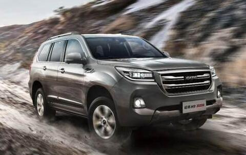 2021年4月大型SUV销量排行榜 哈弗H9销量2301辆排名第一
