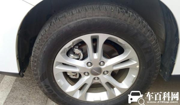 哈弗m6轮胎型号 225/65 r17固特异轮胎