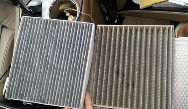 丰田汉兰达的空调滤芯在哪 位于副驾驶手套箱内部
