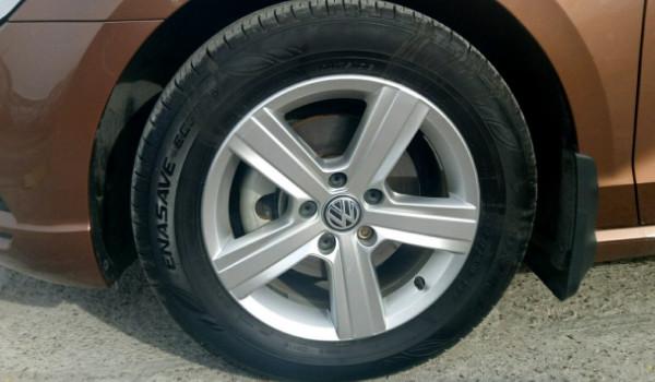 大众凌渡轮胎什么牌子 马牌轮胎(排水能力强)