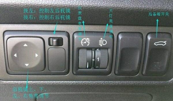 帝豪gs按键功能讲解 详细全面的按键功能讲解