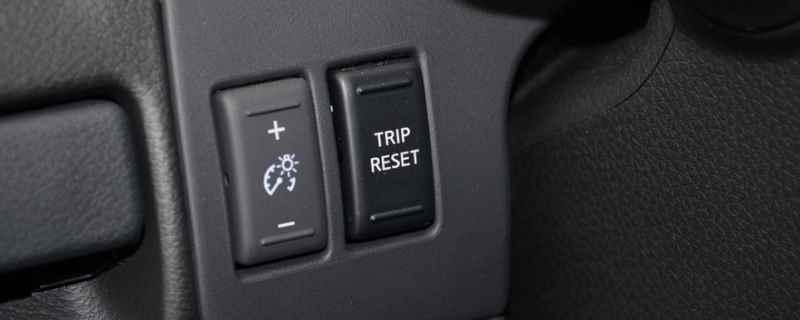 日产tripreset按键怎么用 直接按下按键就可以使用
