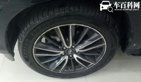 英菲尼迪qx60轮胎是什么品牌 英菲尼迪qx60轮胎型号(235/55 r20)