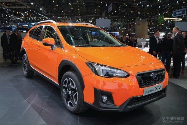 新一代斯巴鲁XV紧凑型SUV 国内进口上市