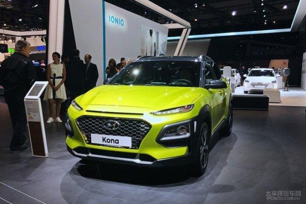 现代全新小型SUV Kona 广州车展发布