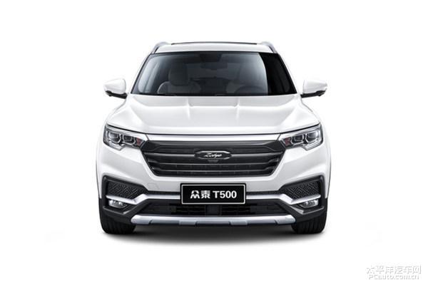 众泰T500全新紧凑型SUV官图发布