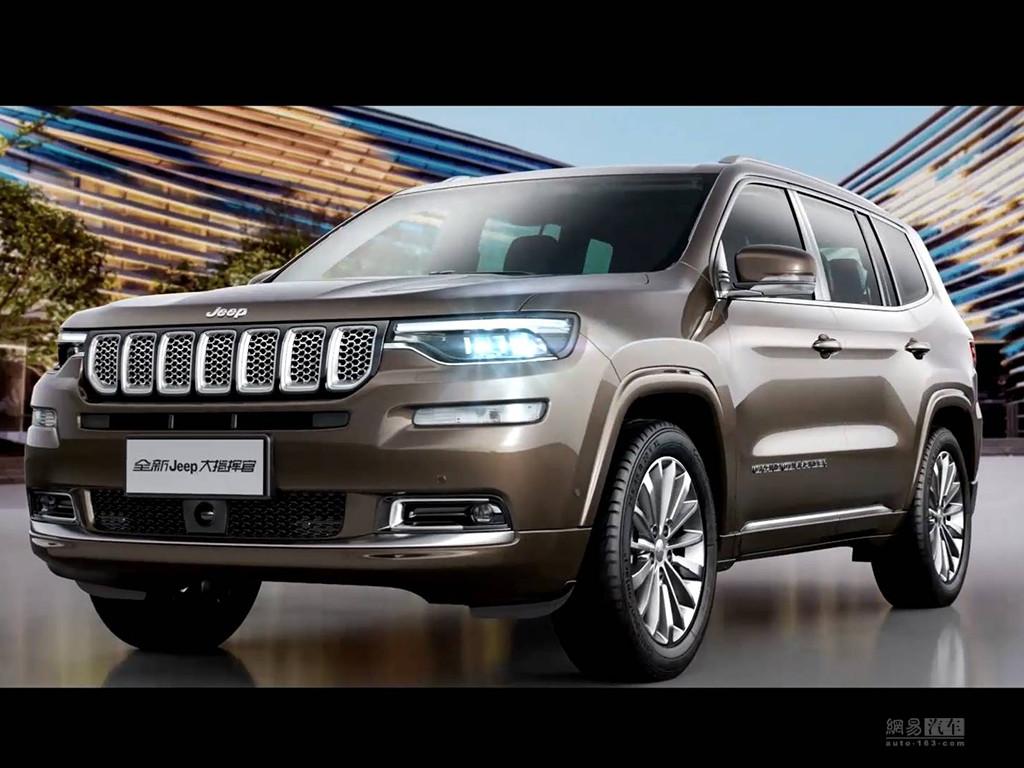 Jeep大指挥官大型七座SUV官图发布 — SUV排行榜网